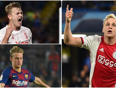 Donny Van De Beek dan 5 Penjualan Termahal Ajax Amsterdam