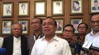 Menteri Sekretaris Negara (Mensesneg) Pratikno  selaku Ketua Komisi Pengarah Pembangunan Kawasan Medan Merdeka (Merdeka.com/Intan Umbari Prihatin)