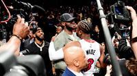 Dwyane Wade Cetak Triple Double pada Laga Terakhir di NBA (Yahoo Sports)
