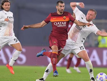 AS Roma Pesta Gol ke Gawang Benevento