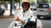 Jasa ojek di kota besar seperti Jakarta memang sangat membantu untuk menerobos kemacetan lalu lintas.