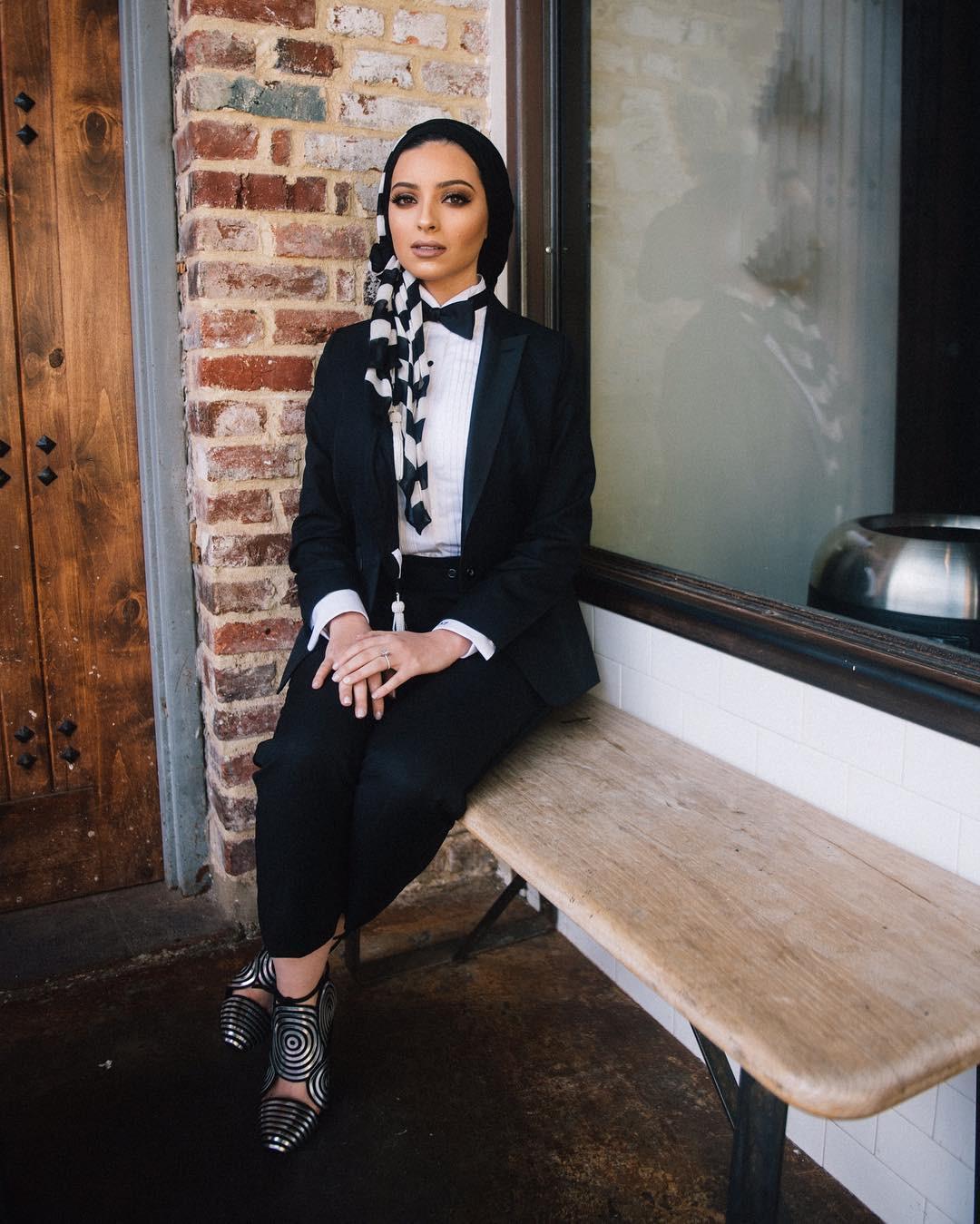 Bikin Gaya Hijab Casual Makin Stylish Ala Hijabers Mancanegara Fashion Fimela Com