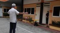 Gubernur Jawa Tengah, Ganjar Pranowo melakukan sidak penanganan Covid-19 di Pati.