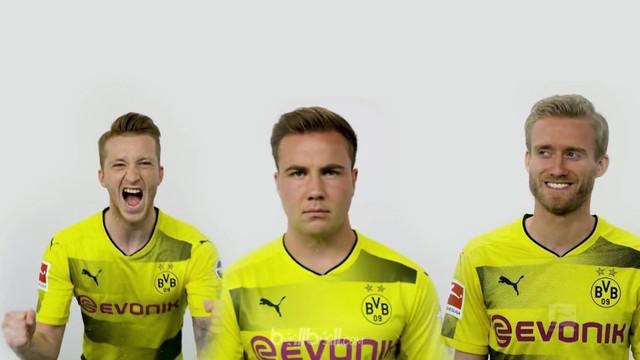 Berita video trio menakutkan di Borussia Dortmund yang telah kembali. This video presented by BallBall.