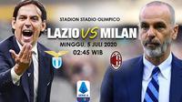 Banner Lazio vs AC Milan. (Triyasni)