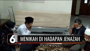 VIDEO: Menikah di Hadapan Jenazah Sang Ibu yang Meninggal Akibat Covid-19
