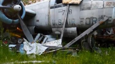 Temuan bangkai-bangkai pesawat tempur Perang Dunia II di sejumlah tempat di dunia.