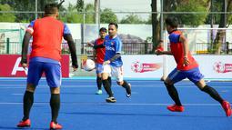 Para pemain bertanding dalam AIA Championship 2019, Jakarta, Sabtu (12/1). Kompetisi ini terbagi dalam dua kategori yakni AIA League dan AIA Partner League. (Liputan6.com/HO/Fahmi)