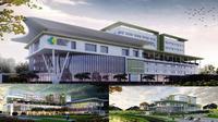 Inilah gambaran 3 Rumah Sakit Unit Pelayanan Terpadu yang akan dibangun di 3 daerah di Indonesia Timur (Foto : Yankes Kemenkes RI)