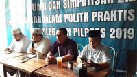 Ketua Umum Garda 212, Ansufri Idrus Sambo mengaku keberatan atas pernyataan La Nyalla Mattalitti beberapa waktu lalu yang membawa nama alumni 212 dalam kegagalannya mencalonkan diri di Pilkada Jawa Timur.