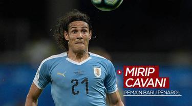 Berita video klub Uruguay, Penarol, belum lama ini mengumumkan pemain barunya yang mirip striker Manchester United, Edinson Cavani. Siapakah dia?