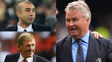 Tugas pelatih sementara atau Caretaker di Premier League bukanlah pekerjaan yang mudah. Sang penganti dituntut mengembalikan performa tim yang bernatakan dengan skuat yang sama. Namun masih ada segelintir Caretaker yang sukses akan itu. (Kolase Foto AFP)