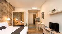 Apartemen Treehouse Suites.