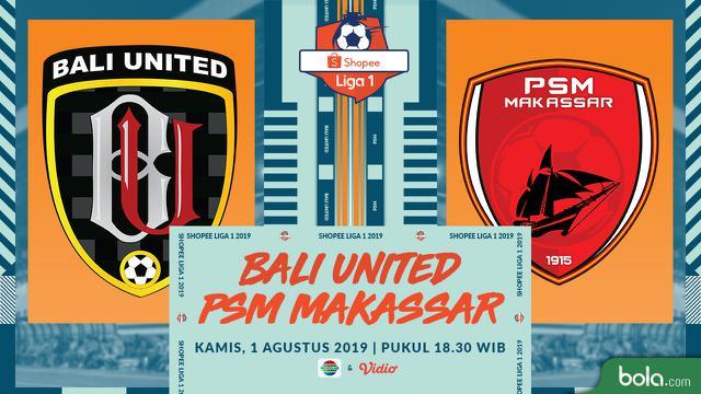 Bali United Vs PSM Makassar