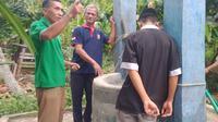 Lokasi sumur yang berada di Desa Saragiang, Kecamatan Alu, Kabupaten Polman, Sulawesi Barat. (Liputan6.com/ Abdul Rajab)