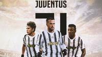 Juventus - Manuel Locatelli, Miralem Pjanic, Corentin Tolisso (Bola.com/Adreanus Titus)