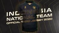 PSSI bersama Mills resmi meluncurkan jersey ketiga Timnas Indonesia, Selasa (17/11/2020). (dok. PSSI/Mills)