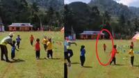 bocah lari estafet salah arah (foto: FB Yuni Rusmini)