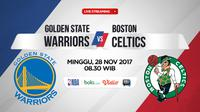 Golden State Warriors Vs Boston Celtics (Bola.com/Adreanus Titus)
