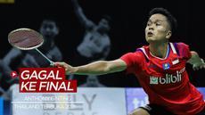 Berita Video Kalah dari Vitor Axelsen, Anthony Ginting Gagal Melaju ke Final Thailand Terbuka 2021