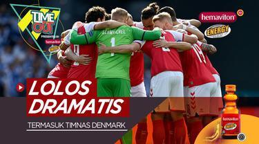 Berita video Time Out kali ini membahas 4 tim yang lolos secara dramatis di fase grup Euro 2020, termasuk Timnas Denmark.