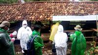 Penanganan antraks di Kabupaten Gunung Kidul terus dilakukan dengan bantuan 5.000 dosis vaksin, antibiotik, antihistamin, vitamin, desinfektan, alat pelindung diri, dan sprayer. (Dok Direktorat Jenderal Peternakan dan Kesehatan Hewan, Kementerian Pertanian)