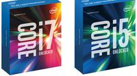 Intel Core i5-6600K dan Intel Core i7-6700K (Sumber : Windowscentral.com)