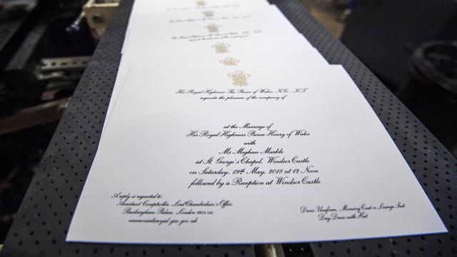 Pangeran Harry Dan Meghan Markle Sebar 600 Undangan Pernikahan