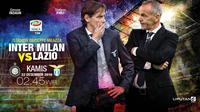 Inter Milan vs Lazio (Liputan6.com/Abdillah)