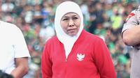 Gubernur Jawa Timur, Khofifah Indar Parawansa. (Bola.com/Aditya Wany)