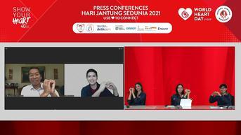 Hari Jantung Sedunia 2021: Beradaptasi Jaga Kesehatan Jantung Saat Pandemi