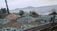 Batu-batu hijau di Ende NTT (John Nelwan)