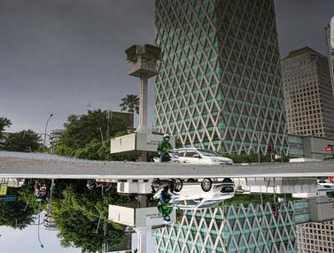 Terimbas Proyek MRT, Menara Jam Thamrin Bakal Direlokasi Sementara