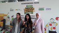 Sahabat Usaha Rakyat  menggelar acara Gebyar 10 Ribu Warung di Lapangan Banteng, Jakarta Pusat (Liputan6.com/Komarudin)