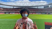 Pemain muda potensial Timnas Indonesia, Bagus Kahfi. (Istimewa)