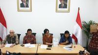 Komnas HAM meminta Kapolri Jendral Tito Karnavian segera membentuk Tim Gabungan Pencari Fakta untuk menangani kasus penyerangan Novel Baswedan. (Liputan6.com/Nanda Perdana Putra)