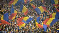 Sepak bola Rumania. (AFP/Daniel Mihailescu)
