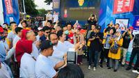 Pekan QRIS 2020 digelar Bank Indonesia Kanwil Sumsel di Kambang Iwak Palembang Sumsel (Dok. Humas Bank Indonesia Kanwil Sumsel / Nefri Inge)