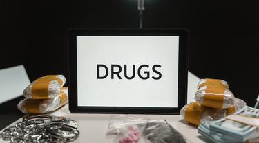 Ilustrasi narkoba, obat-obat terlarang