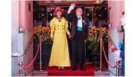 Olav Thon (95), menikahi kekasihnya Sissel Berdal Haga (79) (sumber: dailymail)
