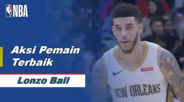 Berita Video Lonzo Ball Jadi Aktor Kemenangan New Orleans Pelicans atas Houston Rockets 127-112 di NBA