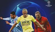 UEFA - Sebastien Haller, Erling Haaland, Wayne Rooney (Bola.com/Adreanus Titus)