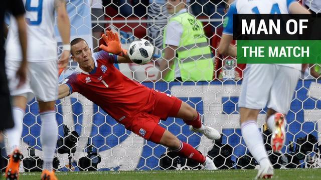Berikut adalah deretan kiper yang dianggap sebagai Man of the match dalam beberapa pertandingan Piala Dunia 2018.