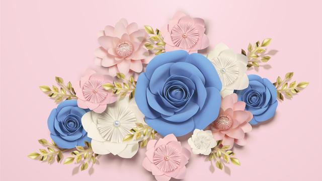 Cara Membuat Paper Flower Untuk Dekorasi Ruangan Mudah Dipraktikkan Hot Liputan6 Com