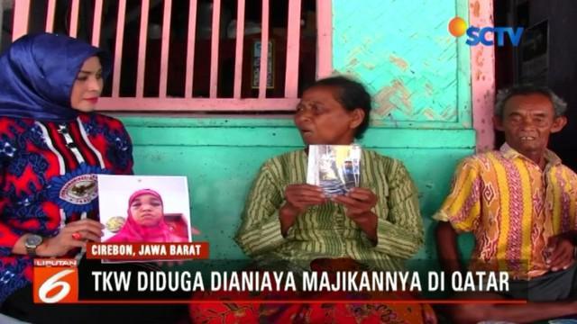Kini pihak desa berupaya memulangkan Mini dengan melaporkan nasib warganya ke Disnakertrans Cirebon dan BNP2TKI.