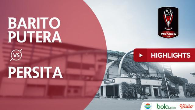 Berita video highlights Piala Presiden 2019 antara Barito Putera menghadapi Persita Tangerang yang berakhir dengan skor 3-1.