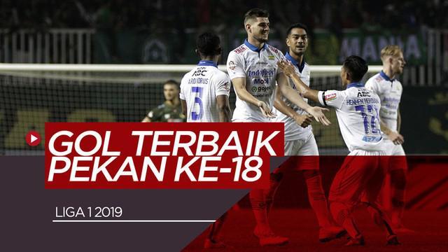 Berita video gol-gol terbaik yang tercipta pada pekan ke-18 Shopee Liga 1 2019. Gol siapa yang menjadi favoritmu?