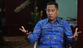 Wawancara khusus bersama Kepala BNN Komjen Budi Waseso (Liputan6.com/Heppy Wahyudi)