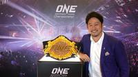 Hideyuki Hata Terpilih Sebagai Presiden ONE Championship Jepang  (Istimewa)