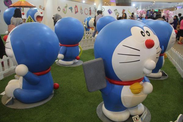 Banyak diorama Doraemon lucu/ copyright by Vemale.com